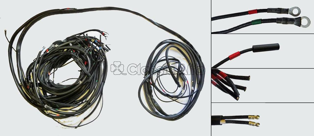 LOOM19 1750 GTV MK2 LHD WIRING LOOM on