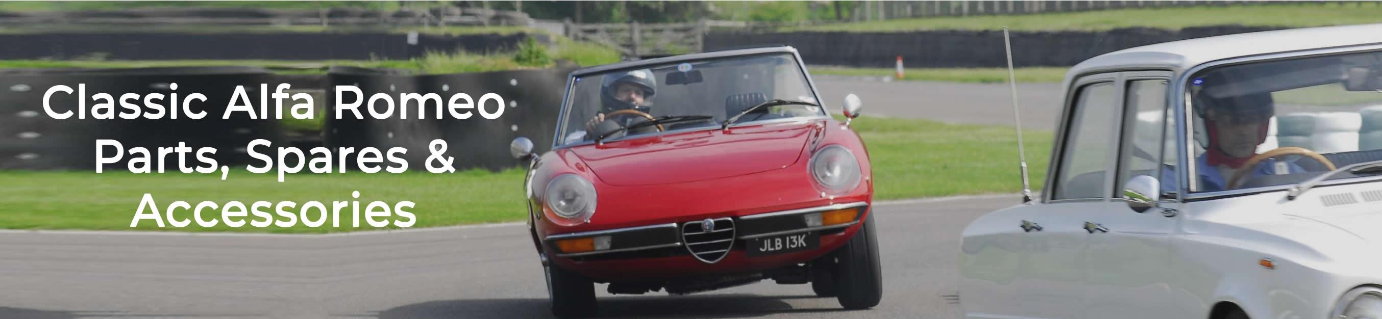 Classic Alfa | UK Largest Classic Alfa Romeo Parts Online