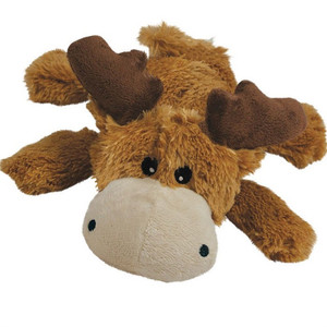 KONG Cozie Plush Dog Toy-Marvin Moose Small
