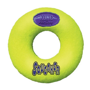 KONG Air dog Squeaker Donut dog toy