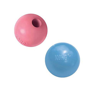KONG Puppy Ball with Hole Small
