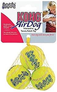 KONG SqueakAir  ExtraSmall Squeakair Tennis Balls 3 pk