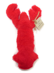 Larry Lobster Made in USA plush dog toy