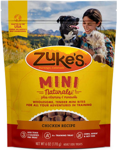 Zuke's Mini Naturals Chicken Recipe Dog Treats 6 oz.