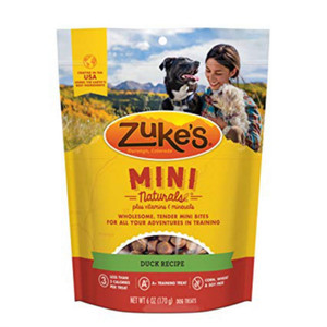 Zuke's mini naturals Duck dog treats  lb. -A Dog treat that is tiny in size and calories, but big on taste