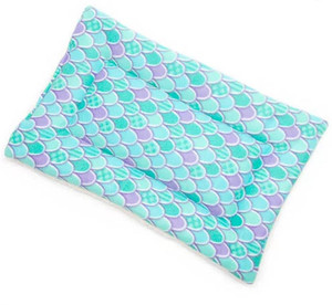Mutts and Mittens  Mermaid Scales Plush Pet Bed