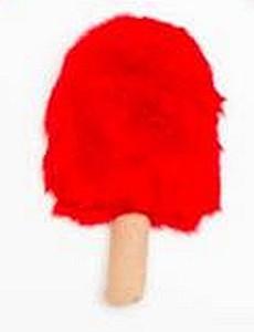 Plush Popsicle USA Dog Toy