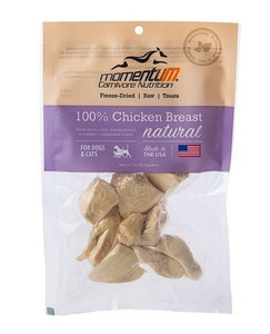 Momentum Freeze Dried Chicken Breast Treats 1 oz.