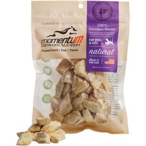 Momentum Freeze Dried Chicken Breast Treats 4 oz.