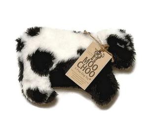 Moo Choo cow plush dog toy- Made in USA