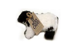 Mini Moo Choo Cow plush dog toy-Made in USA-Made in USA-Made in USA plush dog toy