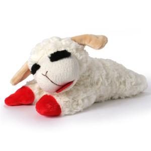 Multipet Lamb Chop plush dog toy