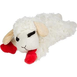 Multipet Lamb Chop Small plush dog toy