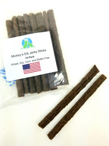 Mickey's Elk Jerky Sticks 10 Pack