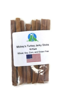 Mickey's Turkey Jerky Sticks 10 Pack