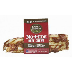 Earth Animal No Hide Beef Dog Chew Medium roll