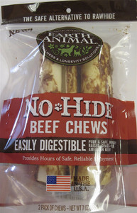 Earth Animal No Hide Beef Chews 7 inch 2 Pack