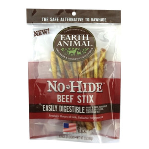 Earth Animal No Hide Beef Stix - 10 Pack