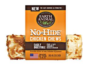 Earth Animal No Hide Chicken Dog Chew 4 Inch