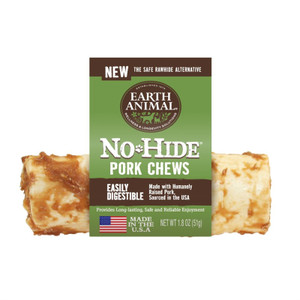 Earth Animal No Hide Pork Chew 4 Inch