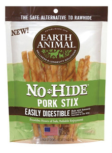 Earth Animal No Hide Pork Stix - 10 Pack