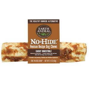 Earth Animal No Hide Venison Dog Chew Medium inch roll