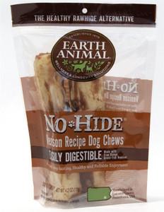 Earth Animal No Hide Venison Dog Chew 7 inch roll 2 Pk