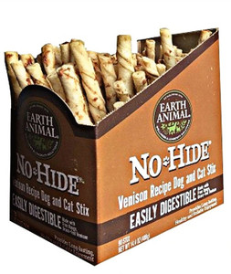 Earth Animal No Hide Venison Dog Chew Stix 90 Ct