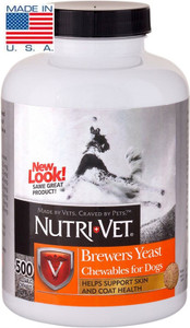 Nutri-Vet Brewers Yeast Tablets, 500 Count