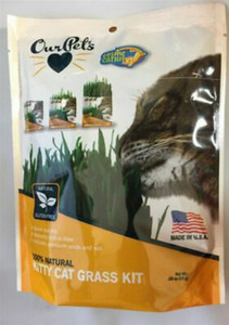 Our Pets 100% Natural Cat Grass Kit