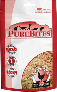 Purebites Chicken Cat Treats Value Size 1.1 oz.