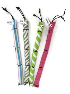 Pet Candy Caterpillar Catnip Toy