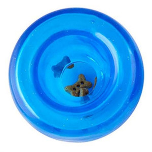 Planet Dog Lil Snoop Treat Dispensing Toy-Blue