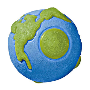 Planet Dog Orbee Tuff Ball Small Blue Green