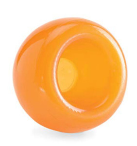 Planet Dog Snoop Treat Dispensing Toy-Orange