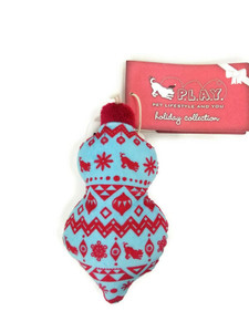 P.L.A.Y. Pet Lifestyle and You Santa's Little Squeakers Candy Wrap Dog Toy