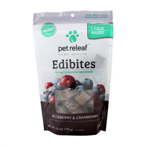 Pet Releaf Edibites Blueberry Cranberry Large Breed