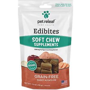 Pet Releaf Sweet Potato Pie Soft Chews For Dogs