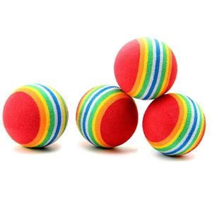 Rainbow Foam Cat Ball Toys 2 Pack