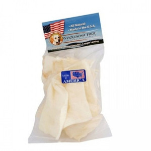 Wholesome Hide Large Rawhide Chips-6 oz bag