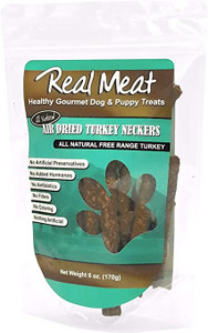 The Real Meat Company Air Dried Turkey Neckers