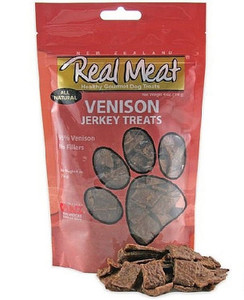 The Real Meat Company Venison Jerky Treats 12 oz