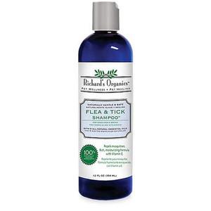 Richards Organics Natural Flea and Tick Shampoo 12 oz.