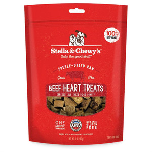 Stella and Chewy's Beef Hearts Treats