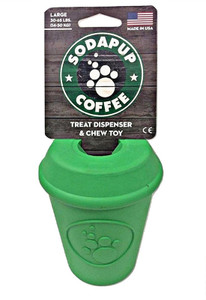 SodaPup Can Toy Coffee Cup USA Dog Toy