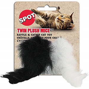 Ethical Spot Twin Mice 2 Pack Cat Toy