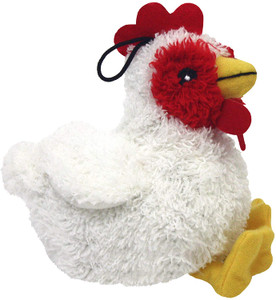 Multipet Look Who's Talking Chicken Dog Toy- Mickeyspetsupplies.com