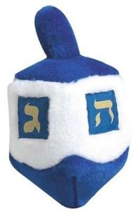 Multipet Talking Dreidel Hanukkah dog toy