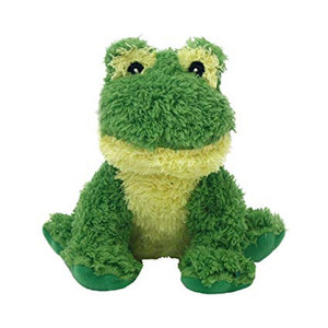 Multipet Look Who's Talking Frog Dog Toy