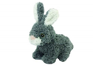 Multipet Look Who's Talking Rabbit Dog Toy